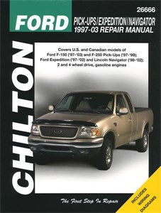 Haynes Reparationshandbok, Ford Expedition, Navigator, Ford Pick-ups, Expedition, Navigator
