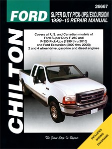 Haynes Reparationshandbok, Ford Super Duty & Excursion, Ford Super Duty Pick-ups & Excursion