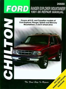 Haynes Reparationshandbok, Ford Ranger/Explorer/Mountaineer