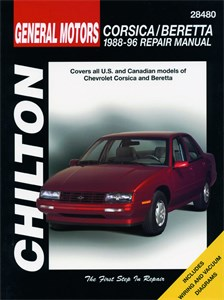 Haynes Reparationshandbok, Chevrolet Corsica/Beretta, Universal