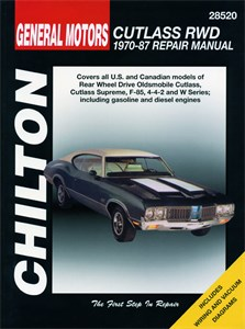 Oldsmobile Cutlass RWD 1970 - 88