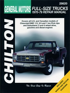 Haynes Reparationshandbok, Chevrolet Pick-ups, Universal