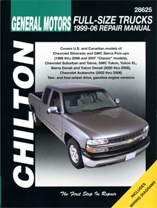 Haynes Reparationshandbok, Chevrolet & GMC Full Size Trucks, Universal