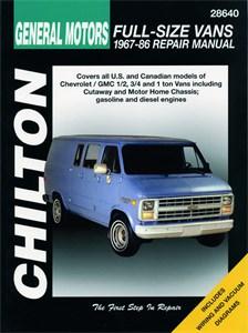 Bildel: Haynes Reparationshandbok, Chevrolet Vans