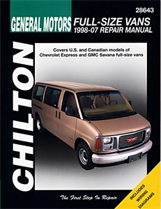 Haynes Reparationshandbok, Chevrolet Full-size Vans, Universal