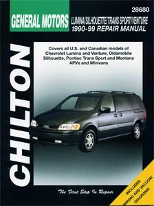 GM: Lumina APV/Silhouette/Trans Sport/Venture 1990 - 99, GM: Lumina APV/Silhouette/Trans Sport / Venture