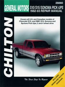 Haynes Reparationshandbok, Chevrolet S10/S15/Sonoma Pick-ups