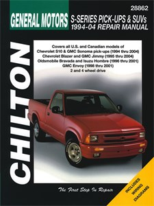 USA Chilton Car Manual, Chevrolet S-Series Pick-ups & SUVs