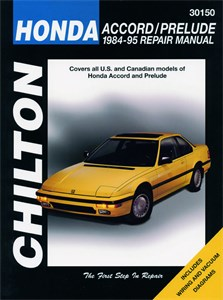 Haynes Reparationshandbok, Honda Accord/Prelude, Universal