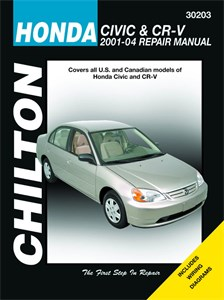 Haynes Reparationshandbok, Honda Civic & CR-V