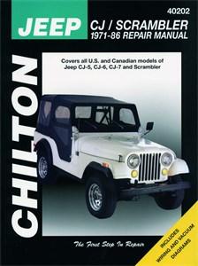 Haynes Reparationshandbok, Jeep CJ/Scrambler, Universal