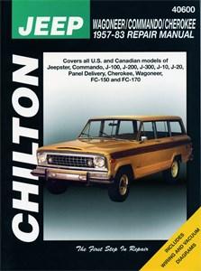 Haynes Reparationshandbok, Jeep Wagoneer/Commando/Cherokee, Universal