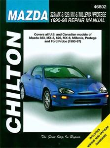 Haynes Reparationshandbok, Mazda 323/MX-3/626/MX-6/Millenia, Mazda 323/MX-3/626/MX-6/Millenia/Protege