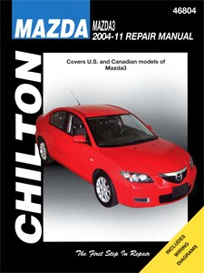 USA Chilton Car Manual, Mazda 3