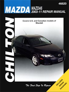 USA Chilton Car Manual, Mazda 6