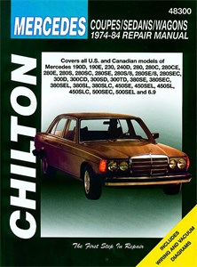Haynes Reparationshandbok, Mercedes-Benz Coupe/Sedan/Wagon, Mercedes-Benz Coupes/Sedans/Wagons