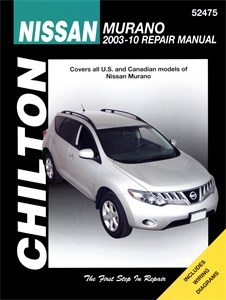 USA Chilton Car Manual, Nissan Murano