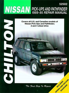 Haynes Reparationshandbok, Nissan Pick-ups & Pathfinder