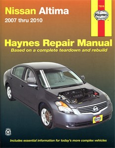 USA Chilton Car Manual, Nissan Altima