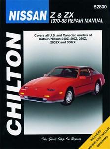 Haynes Reparationshandbok, Nissan Z & ZX