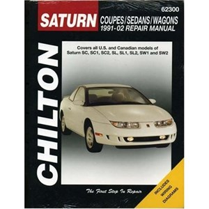 Saturn Coupes/Sedans/Wagons 1991 - 02