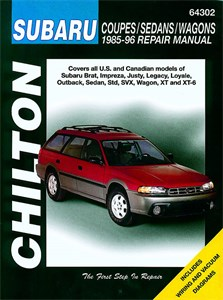 Haynes Reparationshandbok, Subaru Coupes/Sedans/Wagons