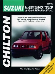 Suzuki Samurai/Sidekick/Tracker 1986 - 100