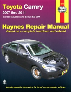 USA Chilton Car Manual, Toyota Camry, Avalon & Lexus ES 350