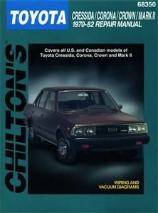 Haynes Reparationshandbok, Toyota Cressida/Corona/Crown/ Mk2, Universal