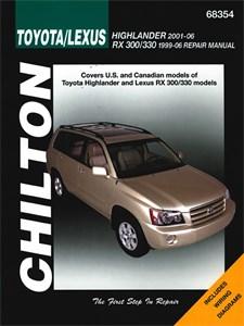 Haynes Reparationshandbok, Toyota Highlander & Lexus RX-330, Universal