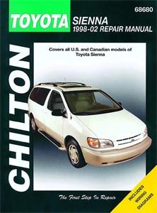 Haynes Reparationshandbok, Toyota Sienna