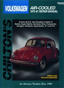 Haynes Reparationshandbok, VW luftkyld, Universal