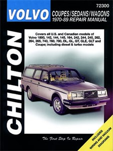 Haynes Reparationshandbok, Volvo Coupes/Sedans/Wagons