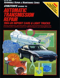 Automatic Transmission Repair 1984 - 89