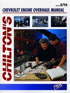 Haynes Reparationshandbok, Chevrolet V8 Engine Overhaul, Chevrolet V8 Engine Overhaul Manual