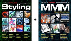 Haynes 2 in 1, Styling & Multimedia, Pakke med 2 bøker, multimedia og styling