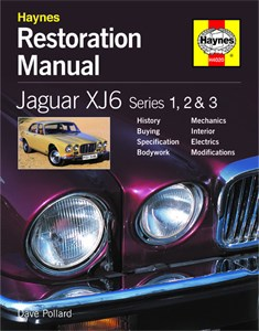 Jaguar XJ6 Restoration Manual, Jaguar XJ6 Restoration Manual (2nd Edition)