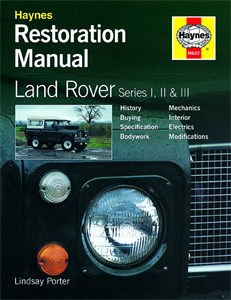 Haynes Reparationshandbok, Land Rover Series I, II & III, Land Rover Series I, II & III Restoration Manual