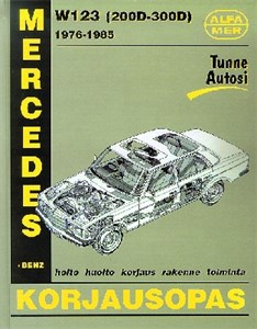 Haynes Reparationshandbok, Mercedes-Benz W123D 200D-300D, Mercedes-Benz W123 diesel 200D-300D