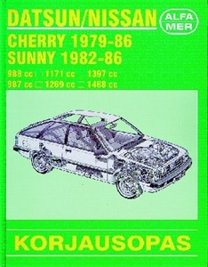 Haynes Reparationshandbok, Datsun/Nissan Cherry ,Sunny, Universal