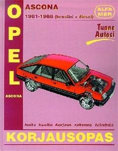 Haynes Reparationshandbok, Opel Ascona
