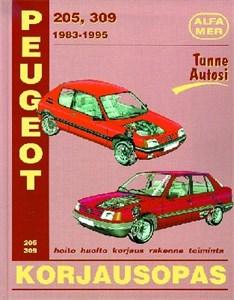 Haynes Reparationshandbok, Peugeot 205, 309, Universal
