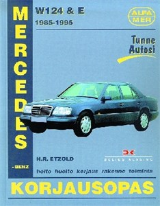 Haynes Reparationshandbok, Mercedes-Benz W124 & E 200-300, Mercedes-Benz W124 & E 200-300 bens.+diesel 1985-95