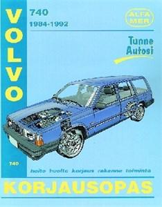 Haynes Reparationshandbok, Volvo 740