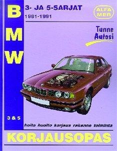 Haynes Reparationshandbok, BMW 3- ja 5-sarjat, Universal