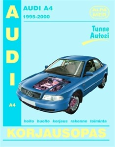 Haynes Reparationshandbok, Audi A4 bens./diesel, Universal