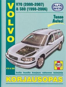Haynes Reparationshandbok, Volvo V70 & S80, Volvo V70 (2000-2007) & S80 (1998-2006)