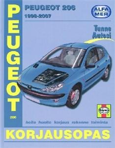 Haynes Reparationshandbok, Peugeot 206
