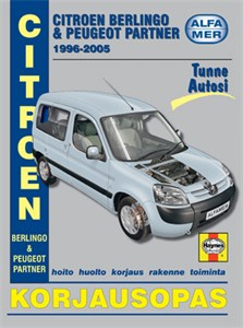Haynes Reparationshandbok, Citroen Berlingo, Citroen Berlingo, Peugeot Partner