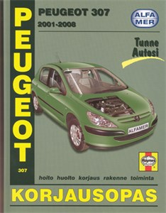 Haynes Reparationshandbok, Peugeot 307, Universal